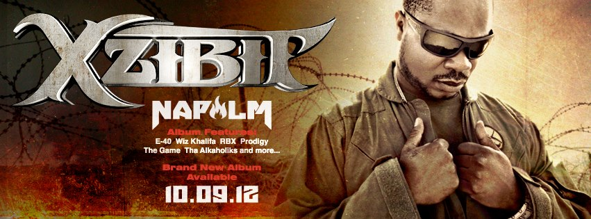 xzibit napalm release 9 oct 2012 Xzibit announces official Napalm album release date: 9 October 2012