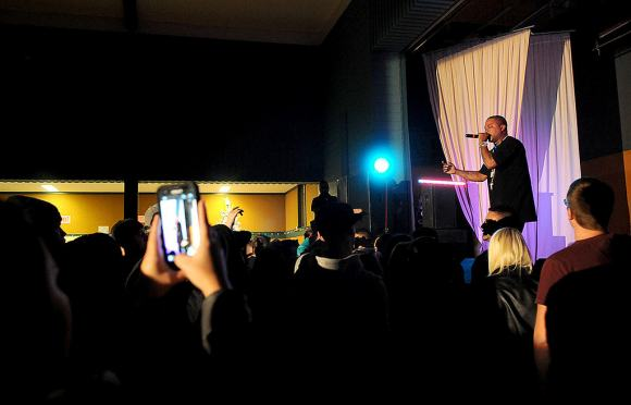 Xzibit on Stage at Chilliwack Live Show