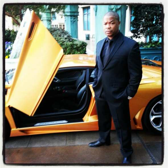 Xzibit on the Way to CES 2013