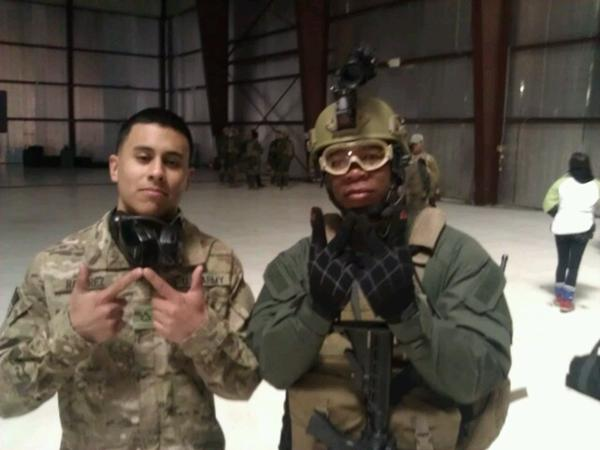 Xzibit & Rick Perez on the set of: Code Name Geronimo #2