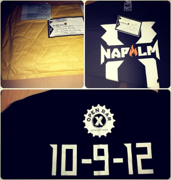 Xzibit Sends Fans T-shirts to say Thanks