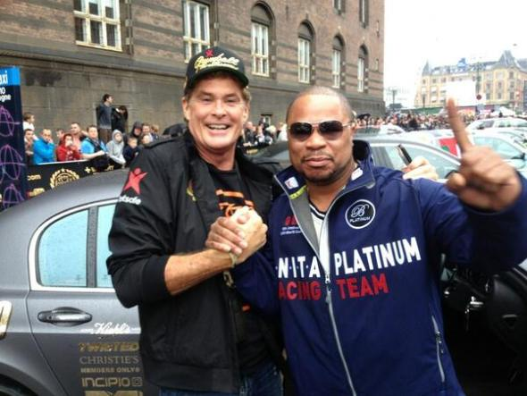 Xzibit with The Hoff at Gumball 3000