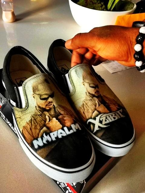 Xzibit to Give Away Signed Limited Edition Napalm Vans Shoes to a Fan