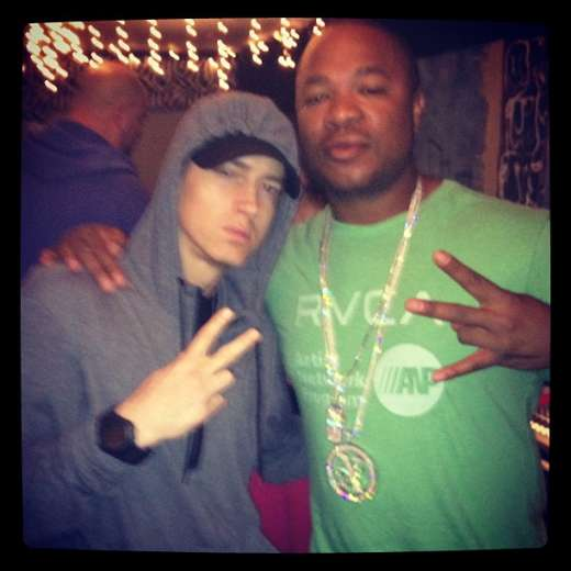 Xzibit with Eminem at Coachella
