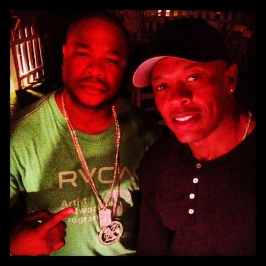 Xzibit with Dr. Dre at Coachella