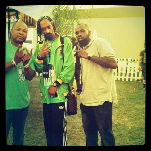Xzibit with Snoop at Coachella